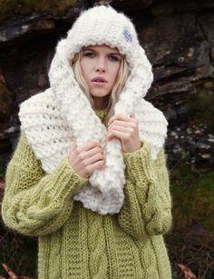 Finkewear/ www.finkewear.com/ Knitwear/ Sweater/ Chunky Scarf/ Beanie/ Scandinavian / Fashion/ Campaign/