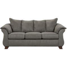 Exceptional Designs Sensations Microfiber Sofa