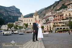 The charming village of Positano Italy, by Destination Wedding Photographer Anna Nersesyan - Cinderella Images