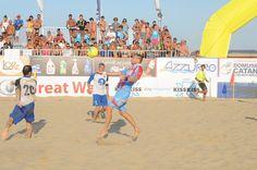 #BeachSoccer: L'equilibrio di Salvo #Zagami sulla sabbia