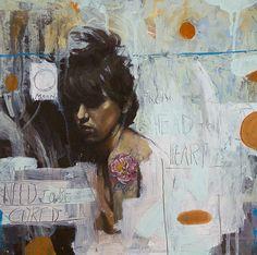 Paintings by Andrés Kal, via Behance