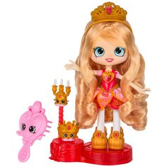 Shopkins Shoppies Series 4 Party Themed Tiara Sparkles (Princess Party) Doll - Blonde