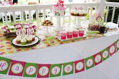 Ellen's Magical Fairy Birthday Party | CatchMyParty.com