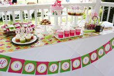 Ellen's Magical Fairy Birthday Party | CatchMyParty.com