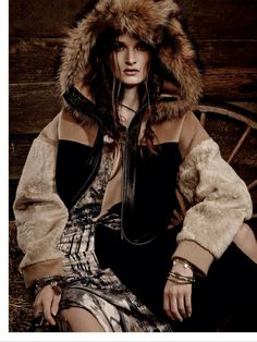 visual optimism; fashion editorials, shows, campaigns & more!: wild west: carly moore by owen bruce for elle canada november 2014