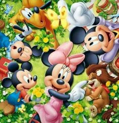 Disney's Mickey & Friends:) Disney Theme, Disney Love, Disney Magic, Disney Art, Walt Disney, Mickey Mouse Cartoon, Mickey Mouse And Friends, Mickey Minnie Mouse, Minnie Mouse Pictures