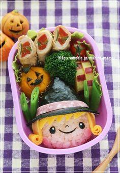 Halloween Bento. #BeCreative | #HappyHalloween