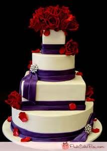Purple and Red cake