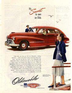 1947 Oldsmobile Series 76 4-Door Sedan