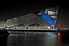 'The Deep' aquarium, Kingston upon Hull, East Yorkshire, England