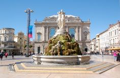 """Montpellier ~ Languedoc-Roussillon ~ France ~ """"The Three Graces"""" Fountain Places Ive Been, Places To Go, Canal Du Midi, Destinations, Ville France, Voyage Europe, Antibes, City Break, Aix En Provence"""