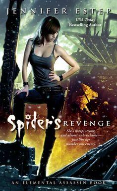 Spider's Revenge by Jennifer Estep, http://www.amazon.com/dp/B004QWZ5QW/ref=cm_sw_r_pi_dp_f2cZrb0DP6FYA