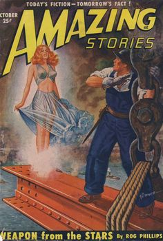 Comic Book Cover For Amazing Stories v24 10