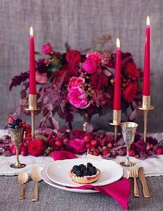 DIY Wedding Planning | Berry Palette #purplepalette