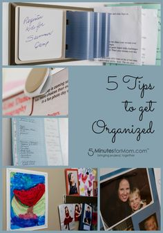 5 Tips to Get Organized @Post-it® Brand #spon