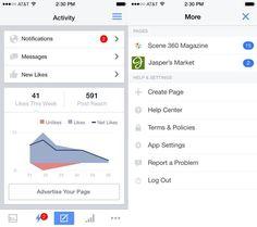 Facebook Pages Manager update a fost lansat | iDevice.ro - Totul despre iPhone, iPad si lumea Apple