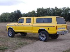 Old Ford Crew Cab Trucks Share this 1979 Ford Truck, Old Ford Trucks, Ford 4x4, Lifted Ford, Diesel Trucks, Cool Trucks, Pickup Trucks, Lifted Trucks, Ford Diesel