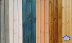 Shades of wooden lambri... Lambrinin tonları; İster duvar, ister tavan. İster dikey, ister yatay. İster cilalı, ister boyalı. Siz nasıl isterseniz!