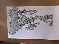 Forest spirt drawing