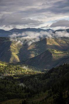 Living Earl: Scout Falls #mountains #running #sunrise #rain #trails #timpanogos