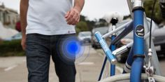 bitlock. Keyless bike lock. Can unlock from anywhere... share the bike with your friends.