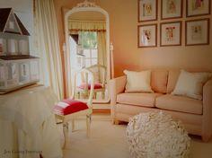 Soooo pink little girls room