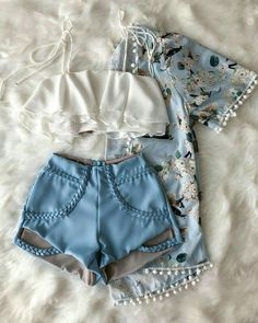 Roupas Teenage Outfits, Teen Fashion Outfits, Outfits For Teens, Cute Casual Outfits, Cute Summer Outfits, Stylish Outfits, Mode Rockabilly, Mode Kpop, Tumblr Outfits
