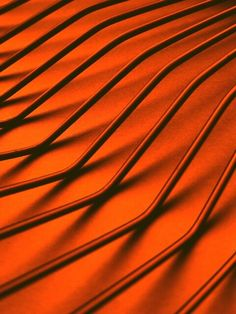 Orange Pattern by © S J