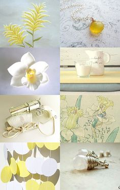 Yellow and White What a Delight!--Pinned with TreasuryPin.com