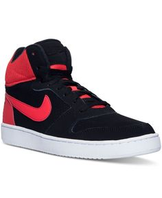 outlet store 1bbce 8e56c Nike Mens Recreation Mid Casual Sneakers from Finish Line Basketball  Design, Finish Line, Casual