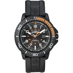 Timex Expedition Uplander Watch - Black Dial-Black Nylon Strap [T49940]