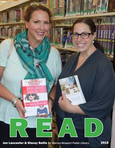 Jen Lancaster & Stacey Ballis visited WNPL in August 2015 to discuss their new books. #jenlancaster #staceyballis