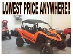 New 2016 Yamaha YXZ1000R Blaze Orange/Black ATVs For Sale in Oklahoma. 2016 Yamaha YXZ1000R Blaze Orange/Black, 2016 Yamaha YXZ1000R Blaze Orange/Black w/Suntop THE WORLD'S FIRST PURE SPORT SIDE BY SIDE The all-new YXZ1000R. A sport 3 cylinder engine and class-defining 5-speed sequential shift transmission. Welcome to the ultimate pure sport SxS experience. Features may include: Unmatched SxS Performance The all-new YXZ1000R doesn t just reset the bar for sport side-by-sides, it is proof…