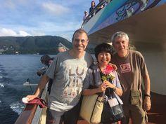 #Viaje a #Japón #PERIPLOS Octubre 2016 Alberto y Eugenio  (PERIPLOS) con nuestra guía