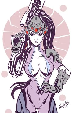 #overwatch #widowmaker