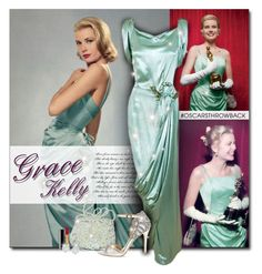 """""""Grace Kelly Oscars 1955"""" by beograd-love ❤ liked on Polyvore featuring Chanel, Badgley Mischka and Mémoire"""