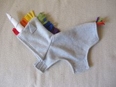 Custom Order for Preeti Sharma by SproutandSprout on Etsy unicorn dog sweater!