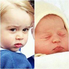 Awww...... gorgeous The Little Prince n Princess of Cambridge....