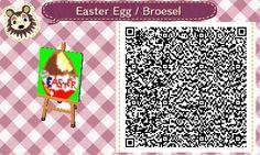Ü-Ei - Überraschungsei - Surprise Egg - Ei - Ostern - Easter - qr - ACNL - Broesel - Animal Crossing New Leaf