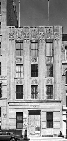 Hanson Building, Montréal - Art Déco