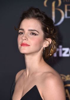 Emma Watson Wears the Perfect 'Beauty and the Beast' Jumpsuit, Straight Off the Runway