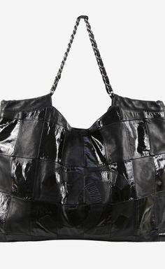 Chanel Black Patchwork Brooklyn Tote 13d12bfca02b0