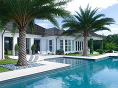 As it's an above ground pool, the possibility of your pet or kids to fall in the pool is nearly impossible. Not every pool needs to be a masterpiece. Backyard Pool Designs, Swimming Pool Designs, Pool Landscaping, Luxury Swimming Pools, Backyard Patio, Kleiner Pool Design, Small Pool Design, Vero Beach, Florida Home
