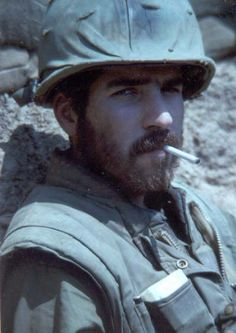 1968 Capt. William H. Dabney of Company I, 26th Marine Regiment, Khe Sanh, Vietnam