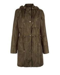 Khaki Hooded Parka | New Look