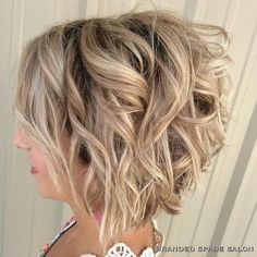 Short Curly Bob Hair Cuts Designs