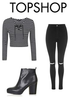 """topshop.com"" by surfernurd ❤ liked on Polyvore featuring Topshop, topshop and 60secondstyle"