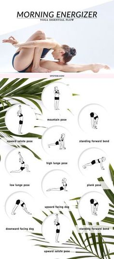 Morning Yoga -- Stretch the entire front and back of the body, build strength and boost your energy levels with this 20 minute full body energizing flow. A morning yoga routine that gives you the amount of stretch and focus you need to have a calm and productive day.