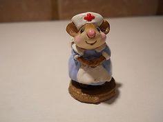 Wee-Forest-Folk-Mousey-Nurse-M-95