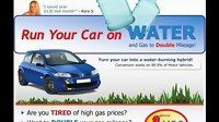 How To Run Your Car On Water - Run Auto On Water And Gas And Save Money - B - Funny Videos at Videobash Hydrogen Car, How To Save Gas, Watch Funny Videos, Funny Video Clips, Diesel Cars, Motor Car, Saving Money, Mlb Games, Automobile